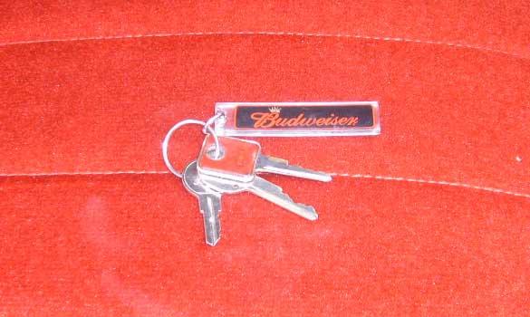 The keys, as I recieved them.
